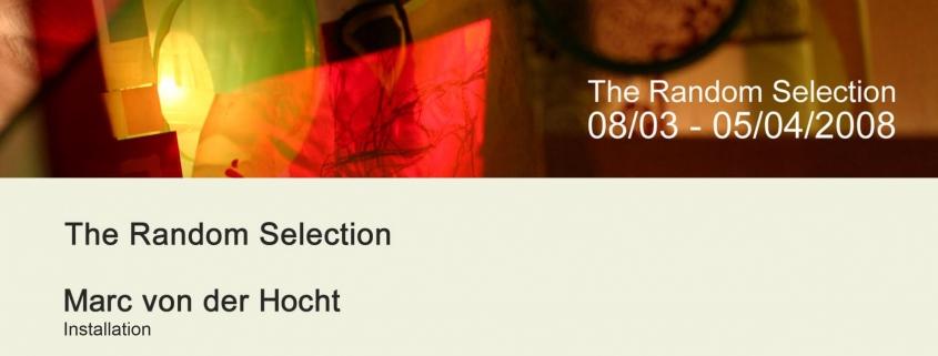 The Random Selection - Marc von der Hocht