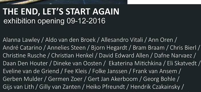 The End, Let's Start Again - Marc von der Hocht