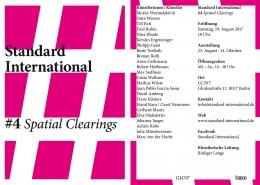 Standard International #4 - Marc von der Hocht